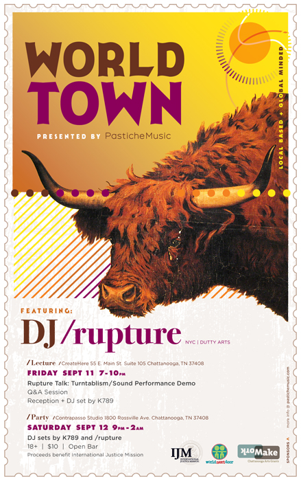 WorldTown flyer