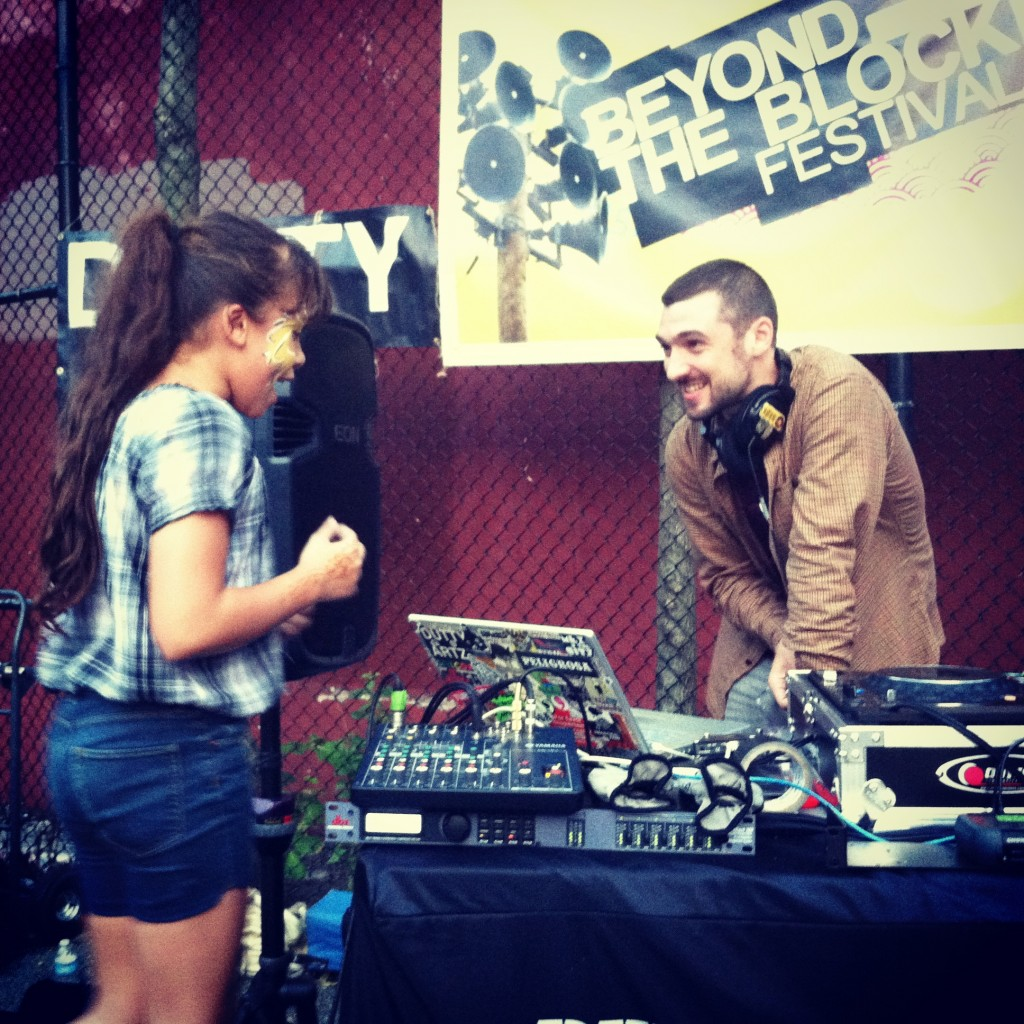 Uproot Andy spinning at Beyond the Block in Rainbow Park and making new fans